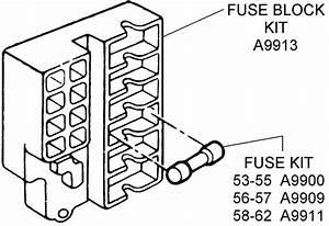 Fuse Block Kits - Diagram View
