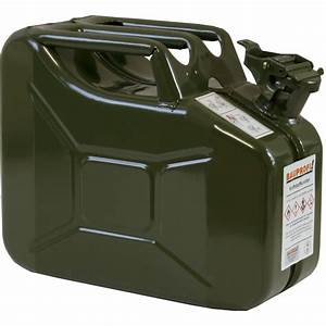 Benzinkanister 10l Metall : benzinkanister metall 10 l benzin stahlblech kanister oliv ~ A.2002-acura-tl-radio.info Haus und Dekorationen