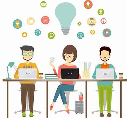 Workplace Clipart Icon Planning Resource Sharing Enterprise