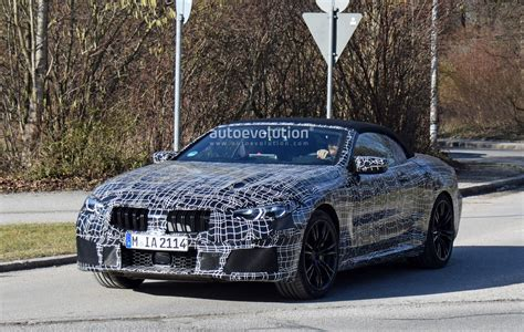 Bmw M8 2020 by 2020 Bmw M8 Convertible Spied With Less Camouflage