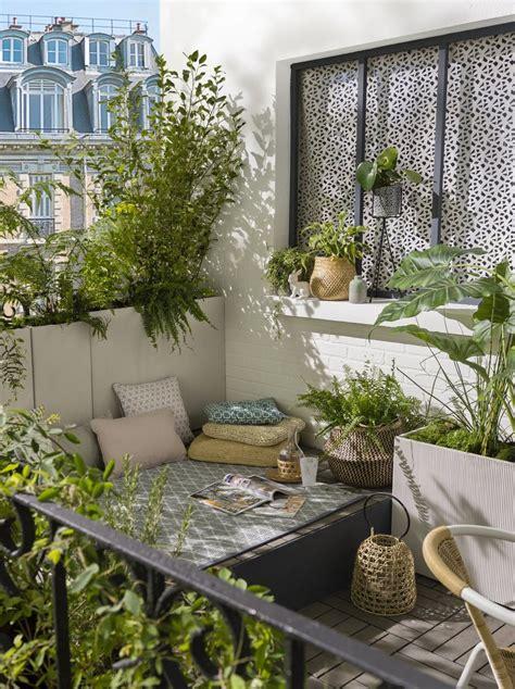 coin repos sur une terrasse deco boheme joli place