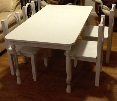 shabby chic childrens table and chairs kids shabby chic table elon s
