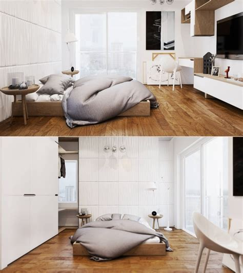 decoration chambre blanche idee deco chambre blanche bois