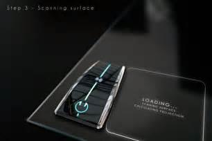 Futuristic Hologram Computer