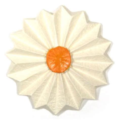 How Make Origami Daisy Flower Page