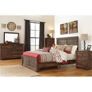 quinden queen poster bed 5 pc bedroom package