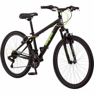 "24"" Mongoose Excursion Boys' Mountain Bike - Walmart.com"