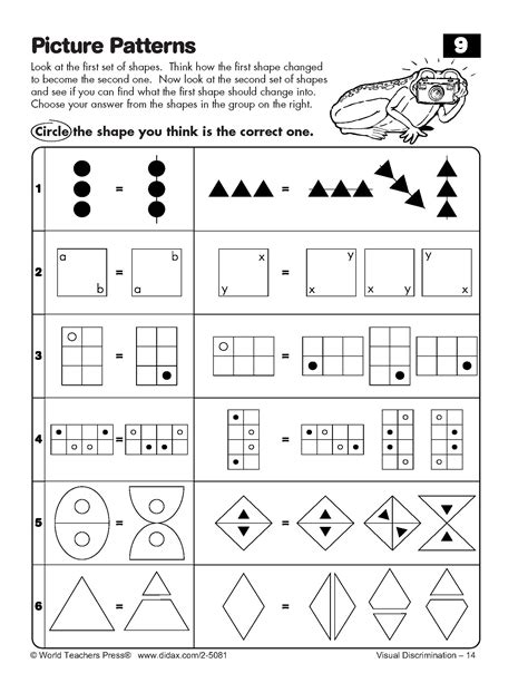 16 best images of logical reasoning worksheets 4th grade