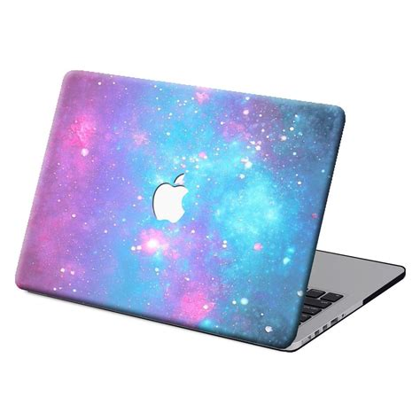 starry galaxy painted laptop hard casekb cover