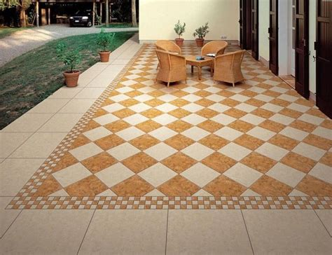 balcony tile  play  important roles   house  home decoration materials