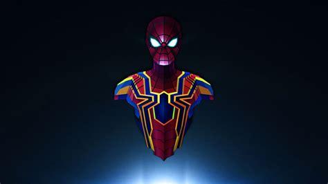 Wallpaper Spiderman, Avengers Infinity War, Marvel