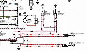 Central Locking Module Wiring Diagram