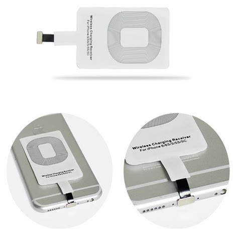 wireless charger for iphone 6 qi wireless charging receiver card charger module mat for 18265
