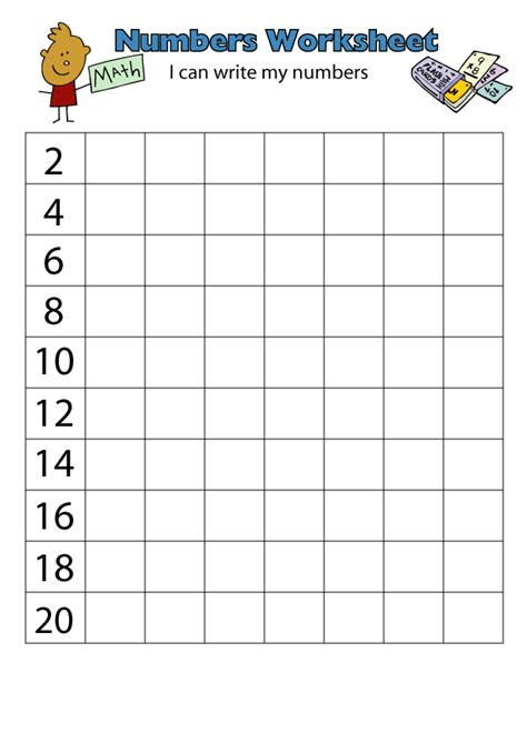 coloring pages counting by twos worksheet count by