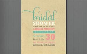 unique bridal shower wedding invitation   OneWed.com