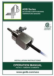 Adb Bearing Temperature Sensor Manual