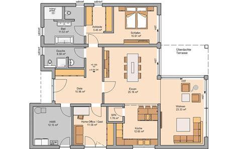Grundriss Barrierefreies Wohnen by Grundriss Haus 150 Qm 5 Zimmer Ostseesuche
