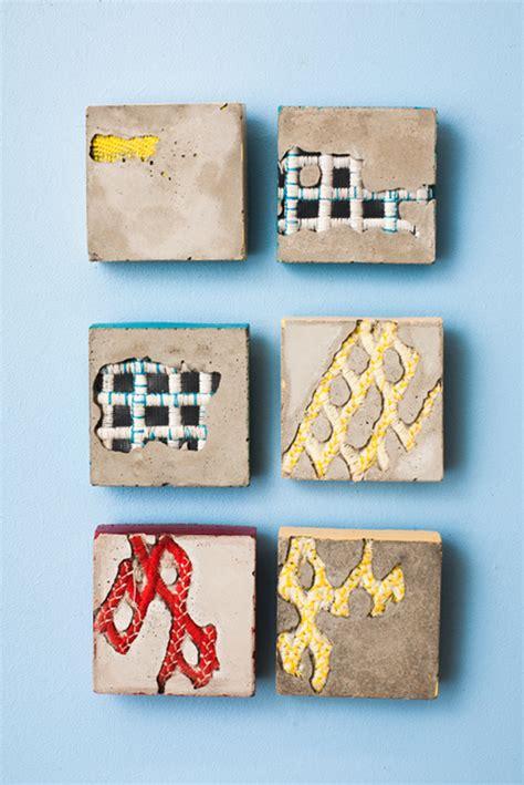 walker bethany cement textiles textile concrete trinkets interview textileartist fiber artist fibre sculpture cemento texture tejidos artists cast piece