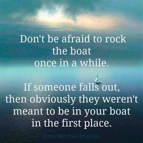 Don T Rock The Boat Fish by Don T Be Afraid To Rock The Boat Once In A While