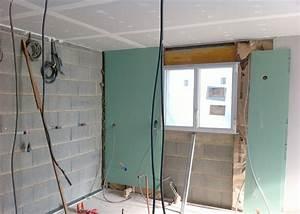 Poser Placo Mur Avec Rail : pose des placos et isolation int rieure ~ Melissatoandfro.com Idées de Décoration