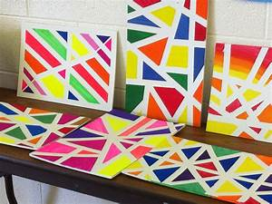 Easy Acrylic Canvas Painting Ideas For Beginners Cool ...