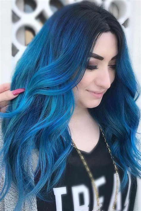 Best 25 Dark Blue Hair Ideas On Pinterest Dark Blue