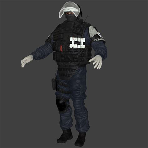 rainbow  siege  counter strike source skin mods