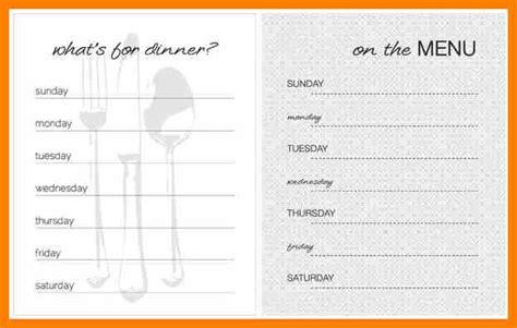 empty menu templates costumepartyrun