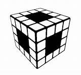 Cube Rubik Coloring Rubiks Pages Soldier Roman Coloringcrew Colorear 39s Printable Getcolorings sketch template