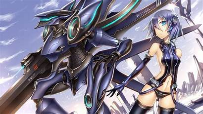 Mecha Anime Robot Purple Warrior Wallpapers Cool