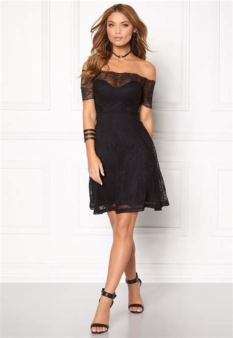 Bubbleroom Valerie Dress Black bubbleroom superior lace dress black bubbleroom