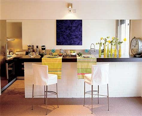 contoire de cuisine décoration cuisine avec comptoir