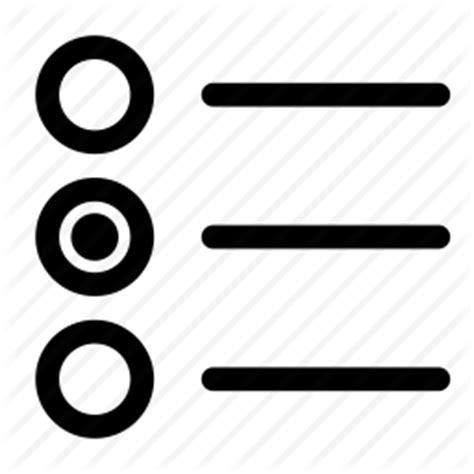 form input interface radio button icon icon