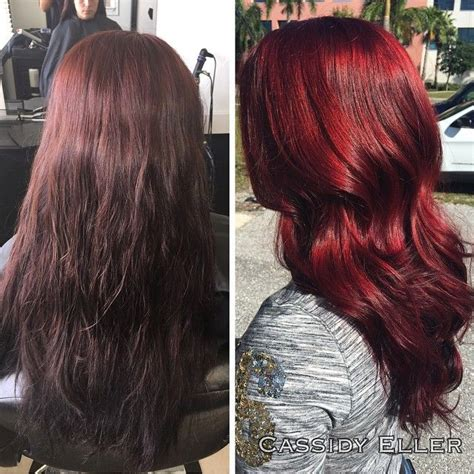 ruby hair color joico intensity semi permanent hair color ruby 4