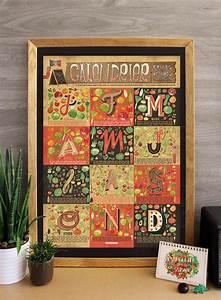 Claire Sophie Lozia : affiche des fruits et l gumes de saison par claire sophie ~ Melissatoandfro.com Idées de Décoration