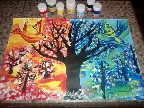 ideas  colores calidos  frios  pinterest