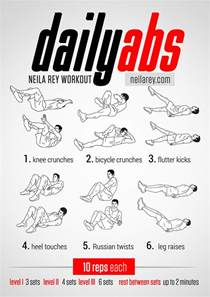 Daily ABS Workout Routine
