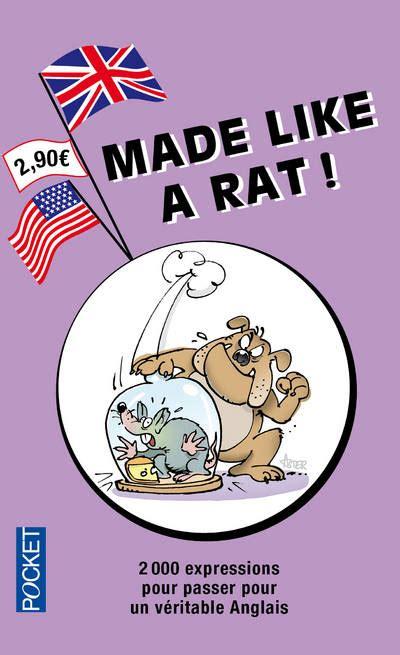 livre made like a rat l anglais par les noms d animaux michel marcheteau pocket langues - Rat En Anglais