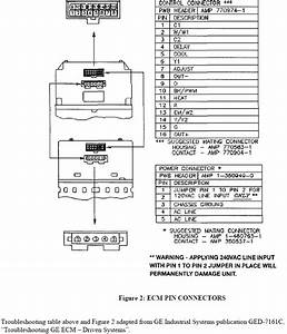 Ge Ecm Motor End Bell Schematic