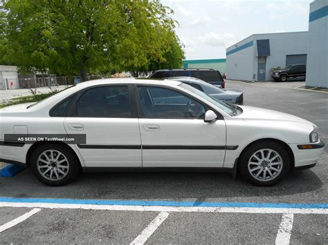 1999 S80 Volvo by 1999 Volvo S80 2 9 Sedan 4 Door 2 9l