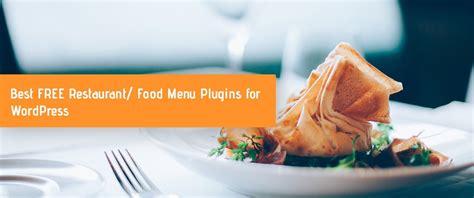 excellent  restaurant menu plugins  wordpress
