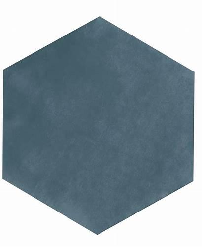 Maiolica Tile Steel Roca Hex Ceramic Tiles