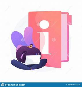 Instruction Manual Vector Concept Metaphor Stock Vector