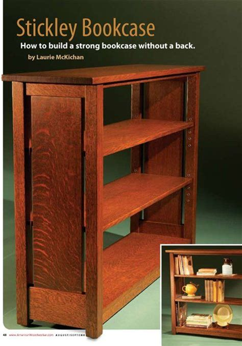 stickley bookcase augustseptember  preview
