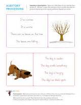Preschool Following Directions Worksheet Auditory Processing Worksheets Sparks