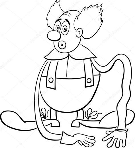 Circus Vlag Kleurplaat by Circus Clown Kleurplaat Stockvector 169 Izakowski 124170700
