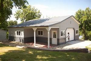 morton buildings with living quarters price guide metal With cost of a metal building home