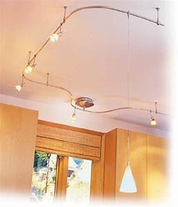Use flexible track lighting when versatility is needed