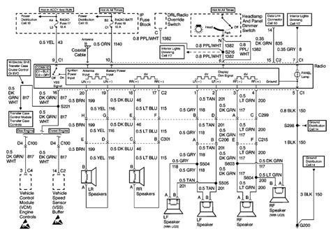 Wire Diagram 2001 Yukon by Repair Guides Entertainment Systems 1999 Radio
