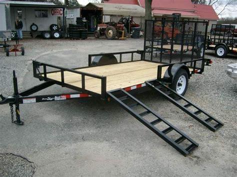 Side Load ATV Trailer Ramp